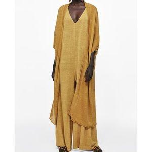 Zara Woman Long Oversize Jacket